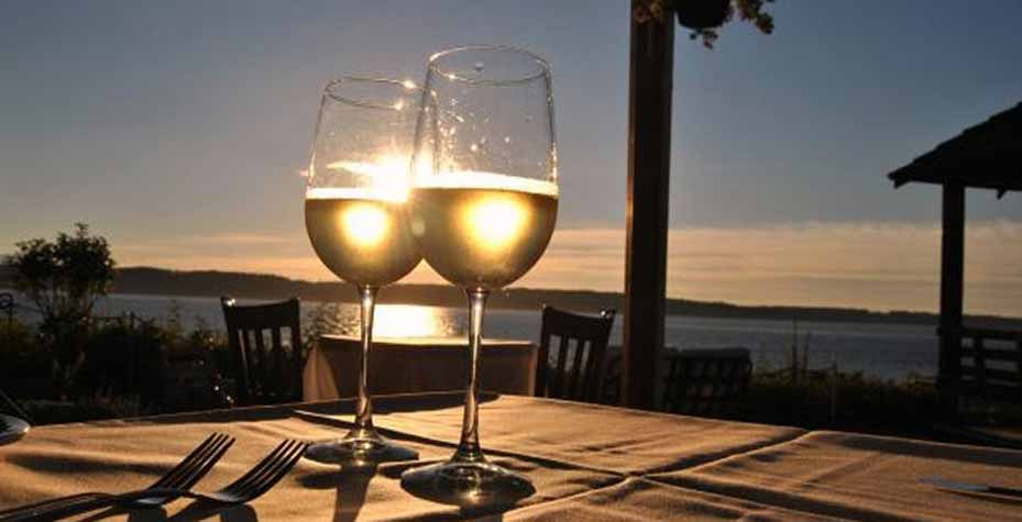 Island Wines Pair Perfectly With Fresh Seafood From The Salish Sea And Local Foods Grown On