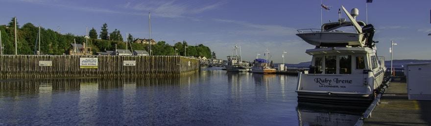 Langley Marina Dns0883 Whidbey And Camano Islands