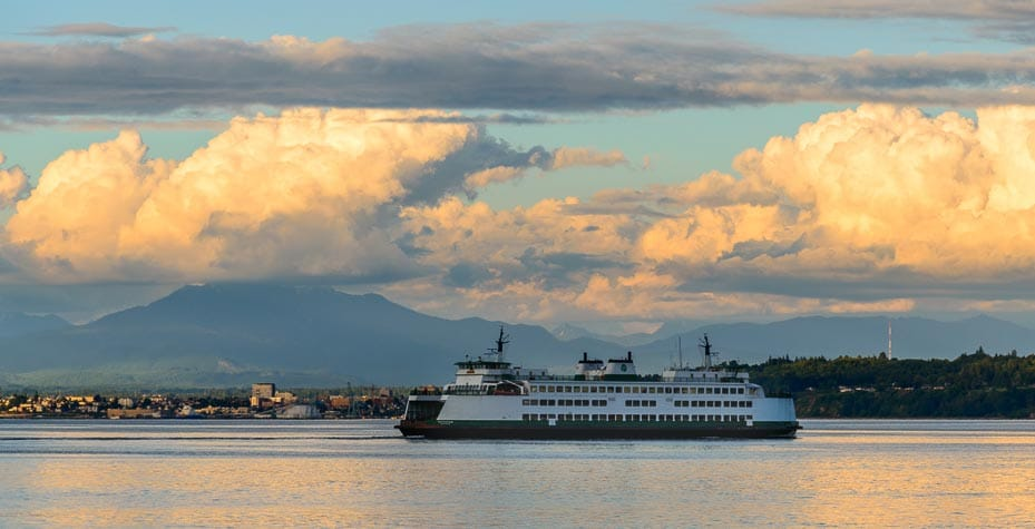 Ferry From Everett To Whidbey Island
