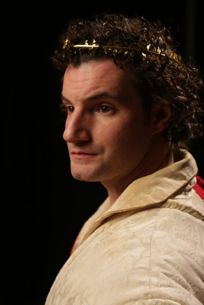 Paul Dederick as Julius Caesar - Photo by Michael Stadler.