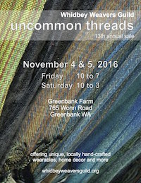 Uncommon Threads Fiber Art Show and Sale