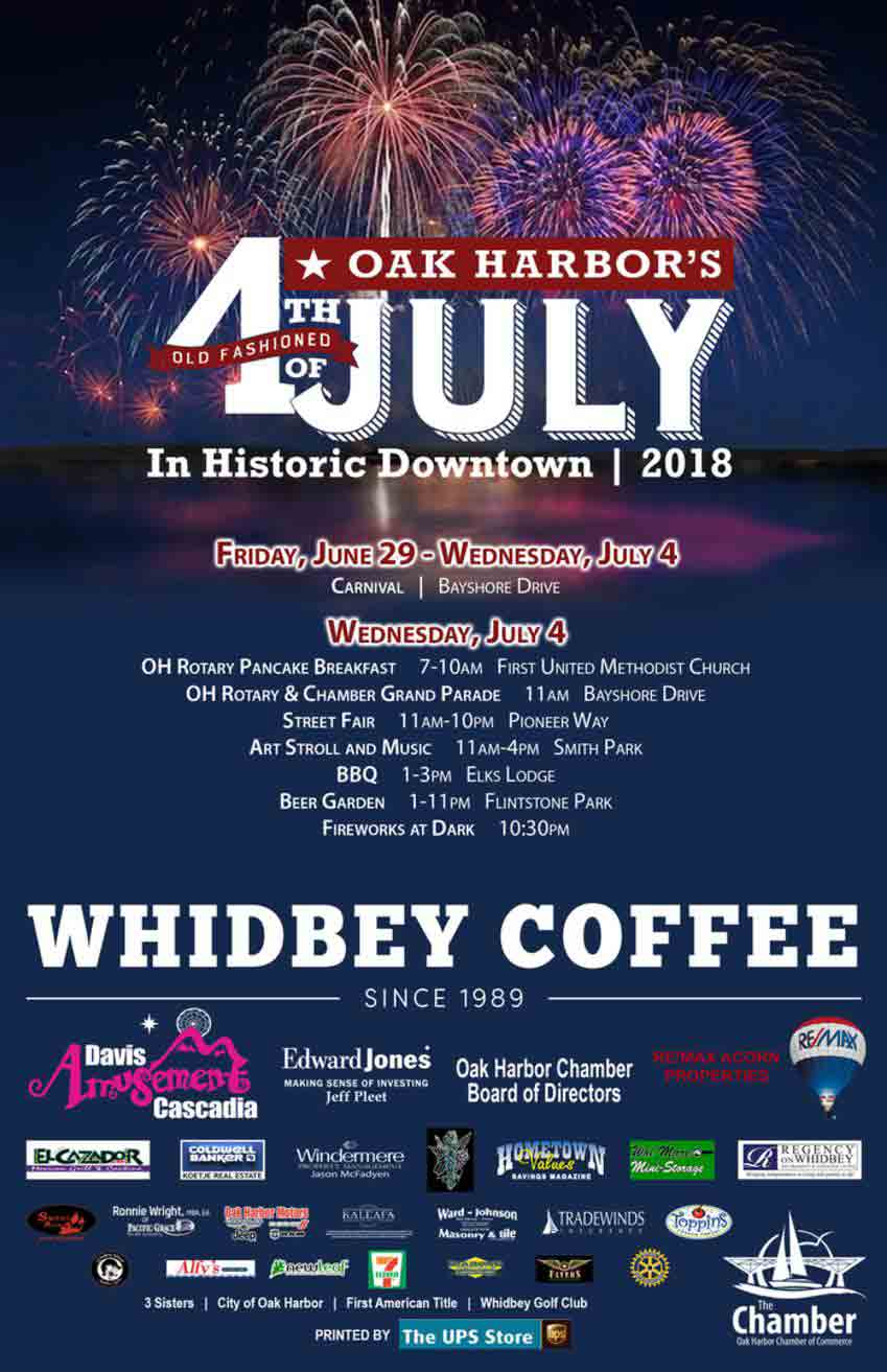 Independence Day On Whidbey And Camano Islands June 30
