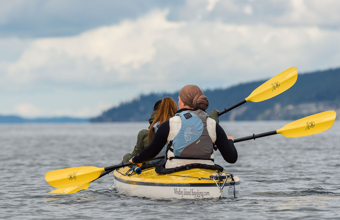"""Featured image for """"Kayaking Whidbey Island"""""""