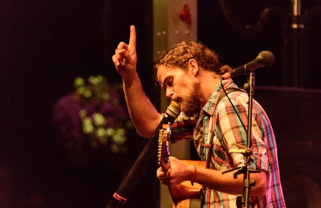 Performance at The Oak Harbor Music Festival