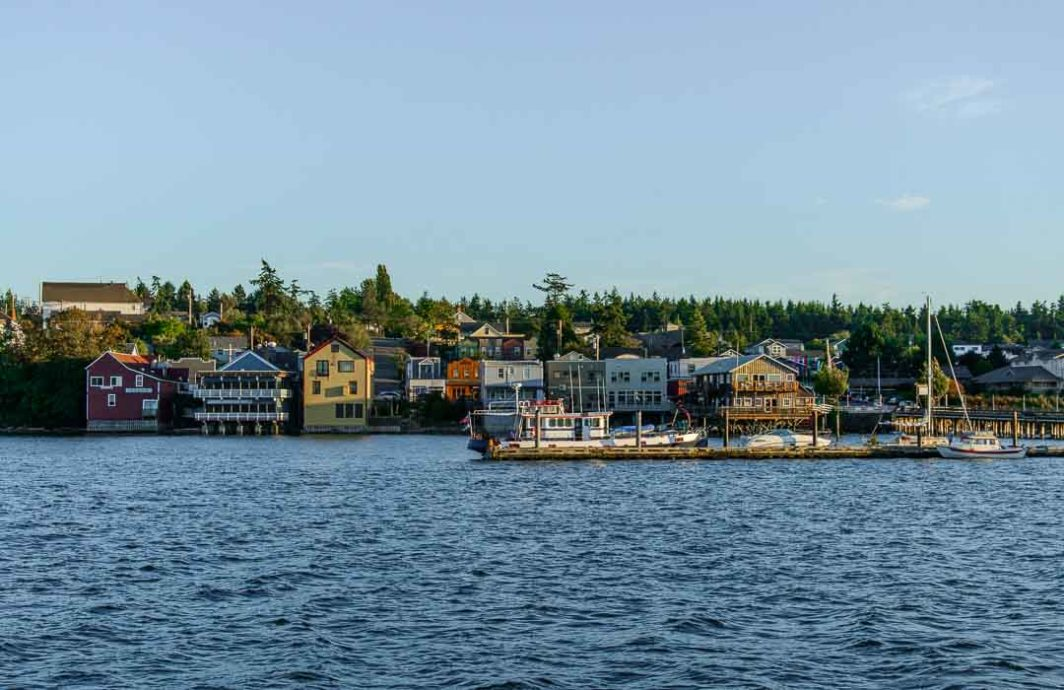The Colorful buildings of Coupeville