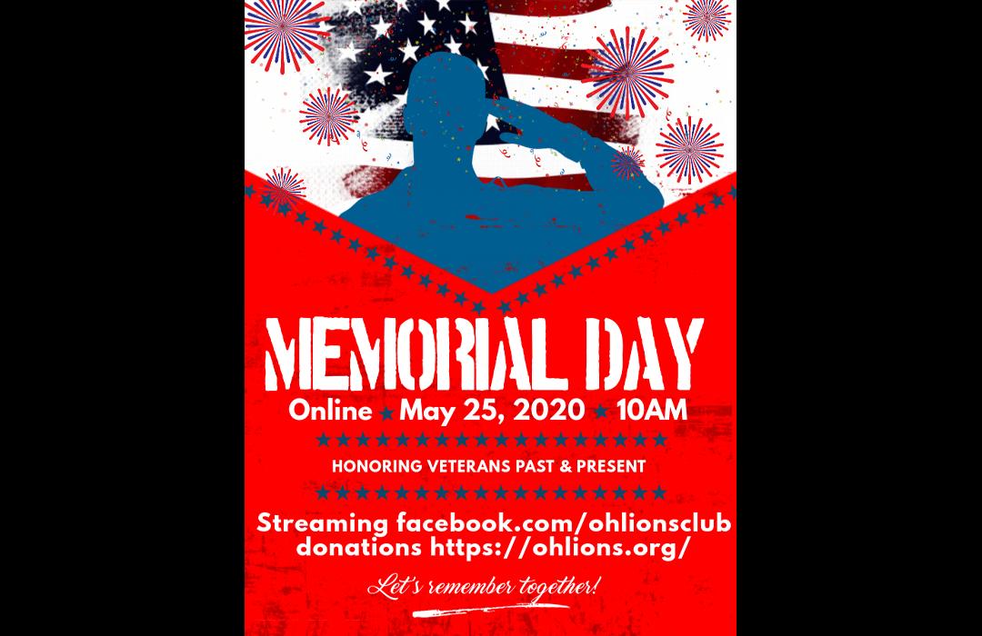 Memorial Day 2020 - Virtual
