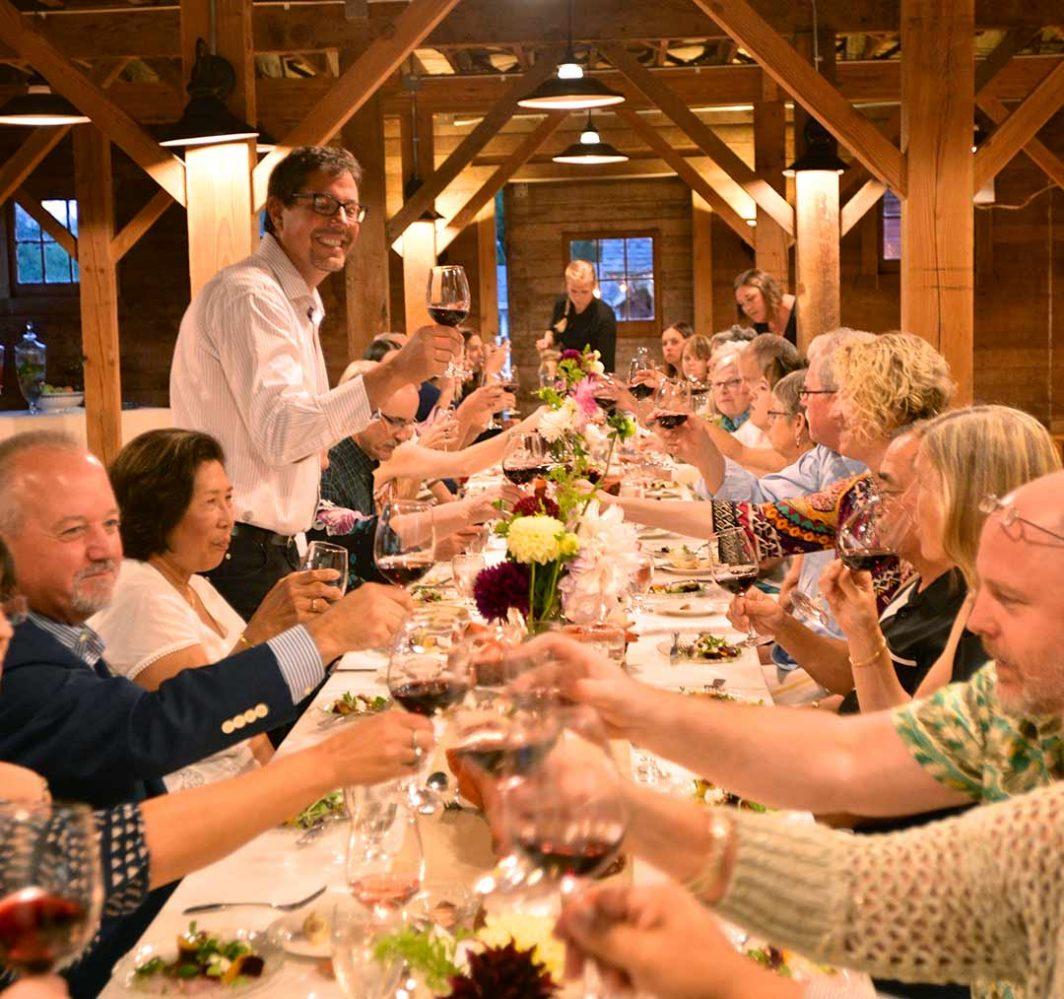 Kristoferson Farm-Dinner in the Barn