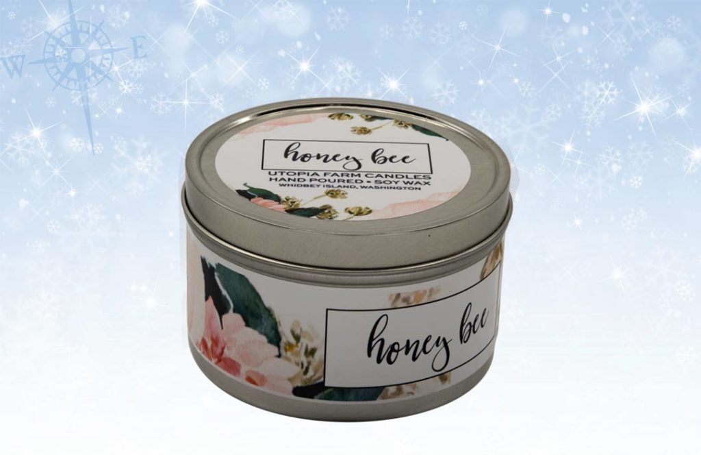 Utopia Farm Candle Honey Bee 1024x664