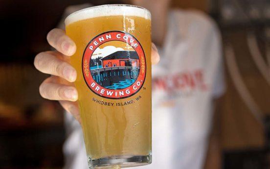 Penn Cove Brewing Company Pint 552x345