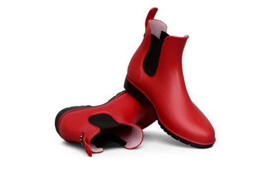 Red Rain Boots from Aqua 552x345