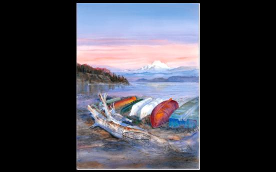 Crabbing Boats by John Ebner 552x345